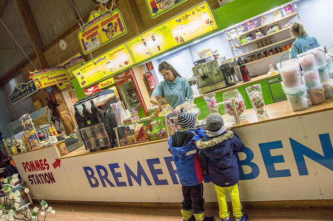 Gastronomie im Bremer Abenteuerland - Essen und Trinken - Snack und mehr