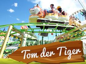 Tom der Tiger Achterbahn